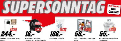 Media Mart Supersonntag - 5 Haushaltsartikel im Angebot - bis zu 27% sparen