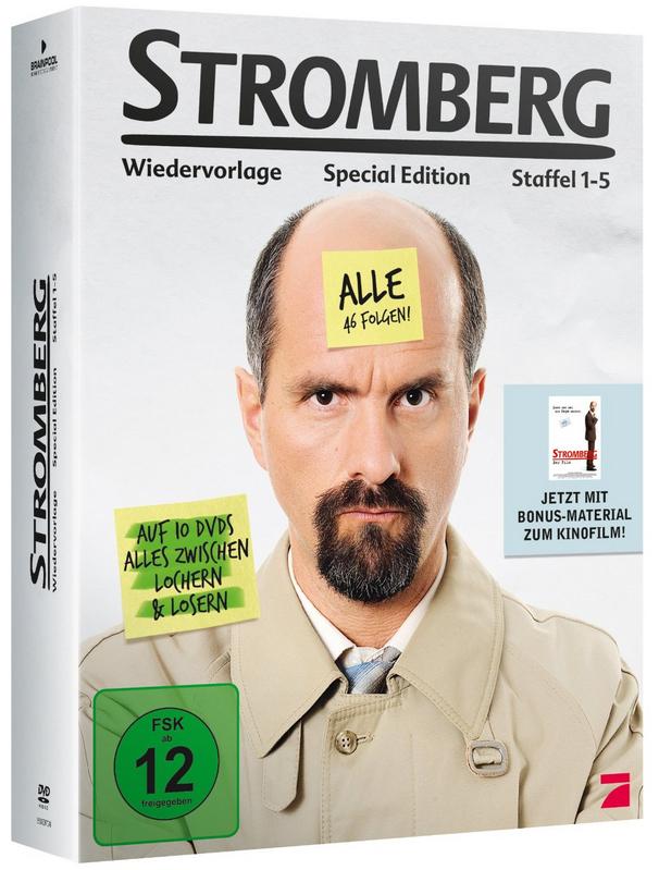 Stromberg Staffel 1-5 um 30,24 € - 13% Ersparnis