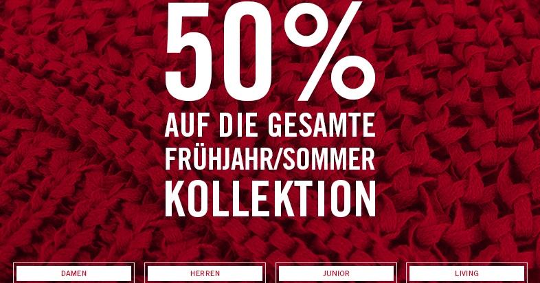 Marc O'Polo: 50% auf die gesamte Frühjahr-/Sommer-Kollektion