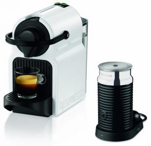 Krups Nespresso Inissia XN 1011 Kapselmaschine inklusive Aeroccino 3 Milchaufschäumer um 99 € - bis zu 21% sparen
