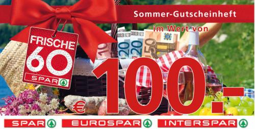 Spar Gutscheinheft bis 23. August 2014