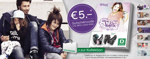 Deichmann: 5 € Gutscheincode ab 20 € Bestellwert