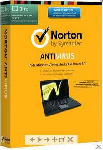 [Offline] Norton Antivirus 2014 (1 PC, Win) um 9,99 € bei Libro - 47% Ersparnis