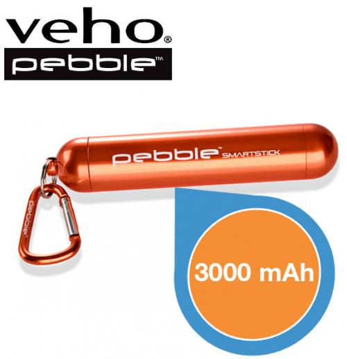 Powerbank Veho Pebble Smartstick x 2 um 35,90 € - 20% Ersparnis