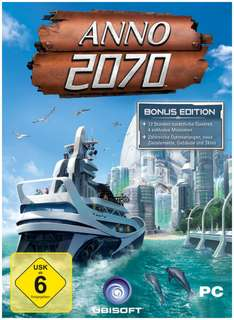 ANNO 2070: Bonus Edition für 11,97 € als Download (Win) - 38% Ersparnis
