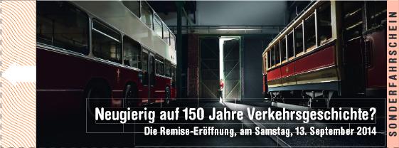 """Gratis Eintritt ins Verkehrsmuseum """"Remise"""" und gratis Wiener Linien Ticket am 13.09.2014"""