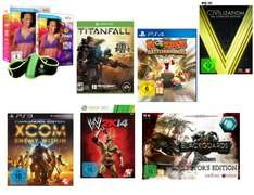 3 Games kaufen nur 2 bezahlen bei Amazon (PC, PS4, PS3, XBOX One, XBOX 360, Nintendo Wii)