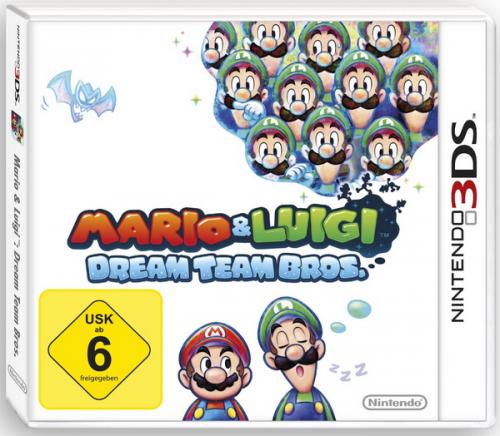 Mario & Luigi: Dream Team Bros für Nintendo 3DS um 21,35 € - 20% Ersparnis