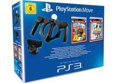 PlayStation Move Starter Pack: Wheel + Cam + Controller + 2 Games um 37 € - 32% sparen