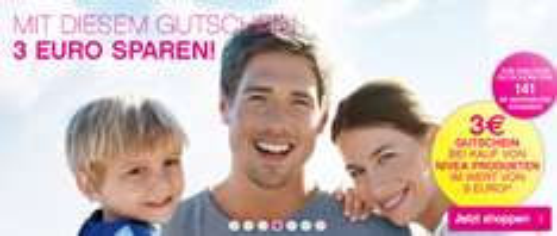 3 € Gutscheincode ab 9 € Einkaufswert von Nivea-Produkten bei BIPA [On- & Offline] - 33% Ersparnis