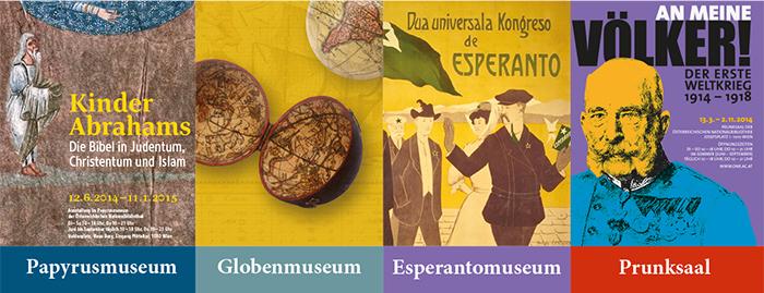 Heute (04.09.2014) gratis Eintritt in die 4 Museen der Österreichischen Nationalbibliothek - bis zu 11 € sparen