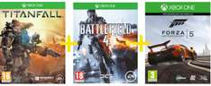 Saturn Tagesdeal: Titanfall + Battlefield 4 + Forza 5 Motorsport Racing (als Download) um 66 € - 49% sparen