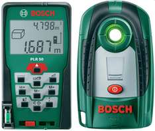 Bosch PLR 50 Entfernungsmessgerät & PDO 6 Metalldetektor ab 112,79 € - 21% Ersparnis