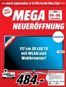 """TOP! Media Markt PlusCity in Pasching """"Mega Neueröffnung"""" - super Angebote – bis zu 77% sparen"""