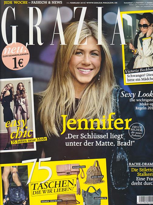 Zeitschrift Grazia für 6 Monate kostenlos abonnieren - keine Kündigung, endet automatisch