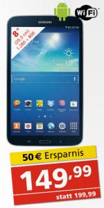 "Pagro Filialangebot: Samsung Galaxy Tab 3 (8"", 16GB, WiFi) um 149,99 € - 17% sparen"