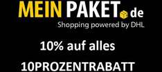 MeinPaket.de: 10% Rabatt auf alles - nur heute am 17.09.2014