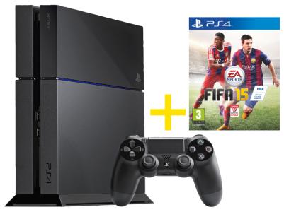 PlayStation 4 + Fifa 15 um 399 € inkl Versand - bis zu 11% sparen