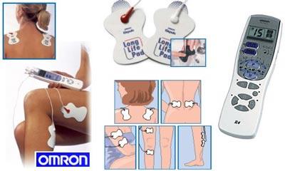 """Omron """"E4"""" TENS-/Muskelstimulationsgerät um 54,99 € - bis zu 30% sparen"""