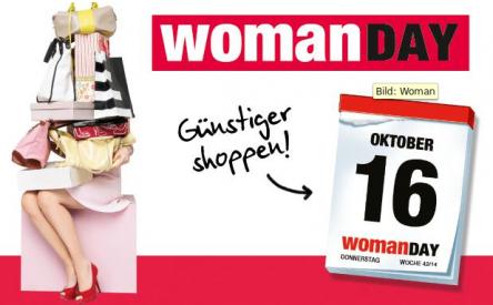 Woman Day Oktober 2014 – Alle Gutscheine und Aktionen im Überblick