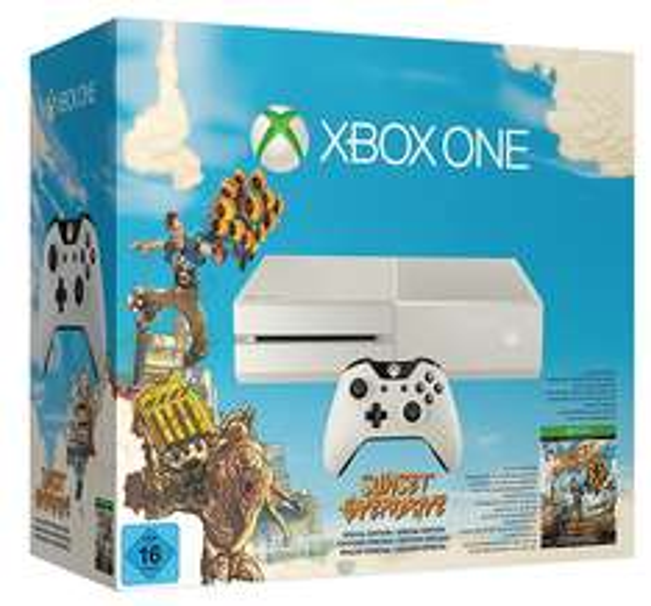 Xbox One (500 GB) + Sunset Overdrive um 299 € - bis zu 19% sparen