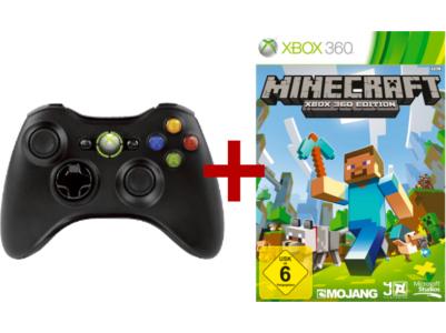 Saturn Tagesdeal: Xbox 360 Wireless Controller + Minecraft um 27 € - bis zu 45% sparen