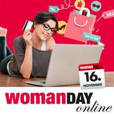 """Woman Day Online"" - 20% in einigen Online-Shops am 16.11.2014"