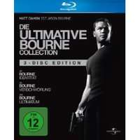 Die ultimative Bourne Collection (3 Blu-Rays) für 30€ *UPDATE*