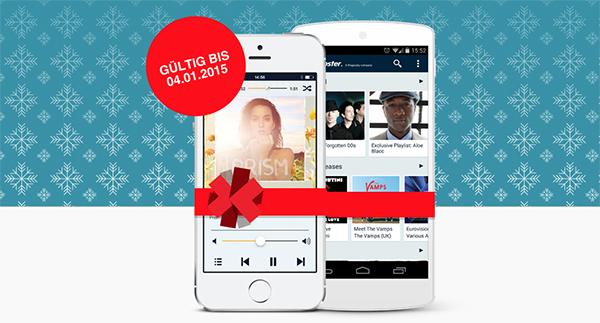 Toll! Napster Musik-Flatrate mit Mobil-Zugriff 50 Tage gratis - auch für Bestandskunden!