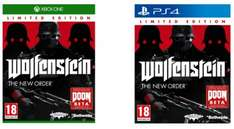 Wolfenstein: The New Order für Playstation 4 oder Xbox One um je 25 € - 38% sparen