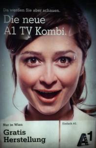 A1 TV Kombi und A1 TV Kombi Plus: Gratis Herstellung in Wien - bis zu 69,90 € sparen