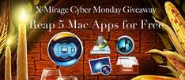 Mac App-Bundle von X-Mirage mit 5 Anwendungen im Wert von 108 € gratis