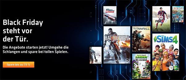 Black Friday Sale bei Origin: Zahlreiche Spiele im Preis reduziert