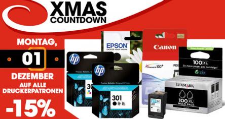 Libro X-Mas Countdown - 15% auf alle Druckerpatronen