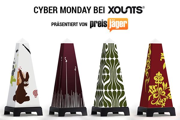 Exklusivangebot zum Cyber Monday: Xounts Basic-Systeme mit 50% Rabatt