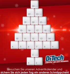 DiTech Adventkalender - jeden Tag ein neues Angebot