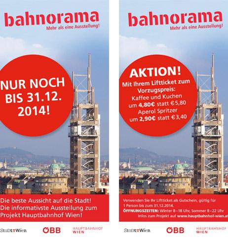 """Gratis Eintritt in den """"bahnorama"""" Aussichtsturm - 2,50 € sparen"""