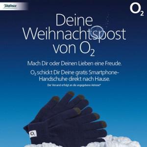 Freebie: Kostenlose Smartphone-Handschuhe von O2 erhalten