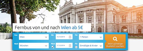 Flixbus mit günstigen Fernreisen mit Start in Deutschland und Österreich ab 5 €