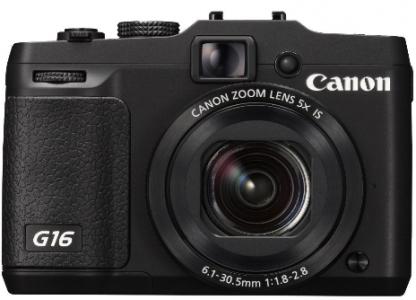 """Canon PowerShot G16 (12,1 MP, 5-fach opt. Zoom, 3"""" Display) um 329 € - bis zu 17% sparen"""