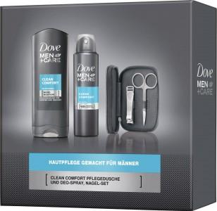 "Dove Men + Care Geschenkpack ""Clean Comfort"" um 7,99 € - bis zu 56% sparen"