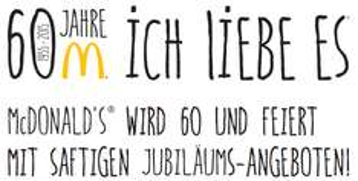 Neue McDonald's Gutscheine für Deutschland - gültig bis 01. Februar 2015