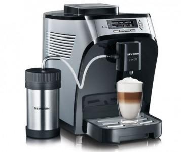 """Severin """"KV 8061"""" Kaffeevollautomat inkl Thermo-Milchbehälter um 250 € - bis zu 34% sparen"""
