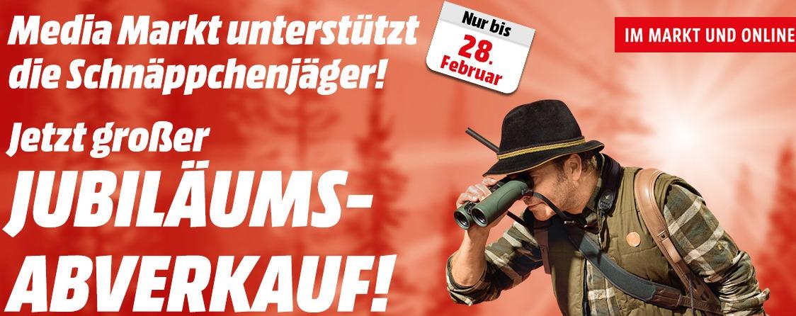 """Media Markt """"Jubiläums-Abverkauf"""" - bis 28. Februar *Update* jetzt versandkostenfrei"""