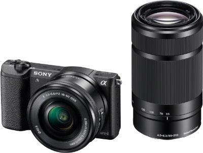 24-MP-Systemkamera Sony Alpha 5100 mit 2 Objektiven für 526,54 € - 19% sparen