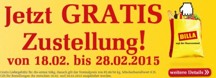 Billashop.at – gratis Zustellung bis 28.3.2015 – 5,99 € sparen