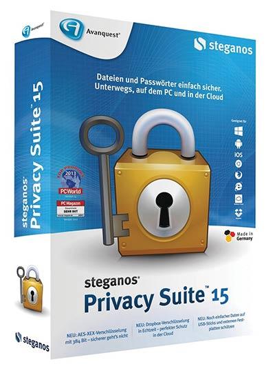 Steganos Privacy Suite 15 - Vollversion kostenlos herunterladen
