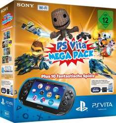 "Sony PlayStation Vita (WiFi) ""Mega Pack"" um 111 € - bis zu 30% sparen"