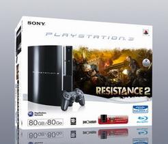 PlayStation 3 80GB + Resistance 2 für 245€ bei Bol.de
