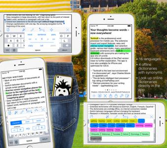 """(Schnell) """"Textkraft Pocket"""" iPhone-Textverarbeitung kostenlos - 3,99 € sparen"""